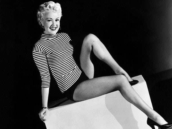 betty grable legs